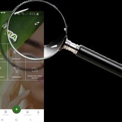 App Vergrootglas